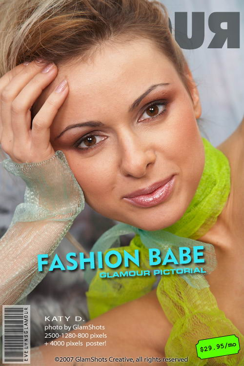 Katy D - `Fashion Babe` - by Tom Veller for MYGLAMOURSITE