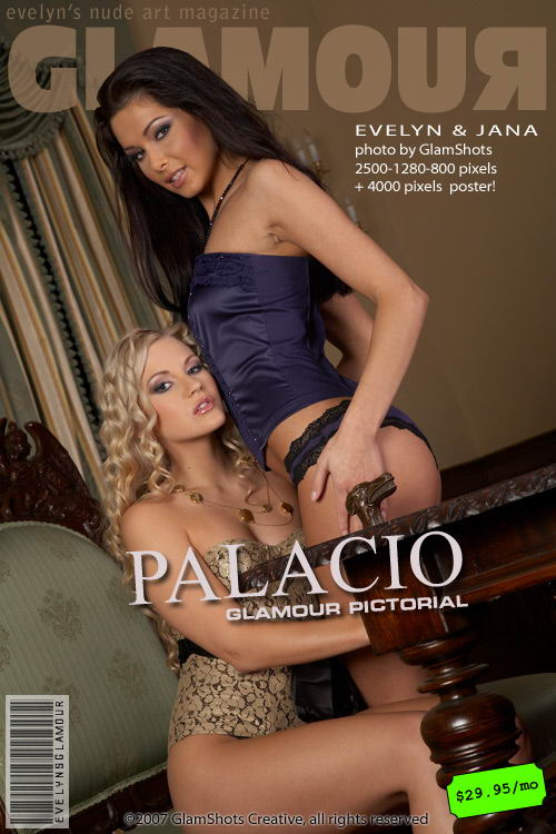 Evelyn Lory & Jana - `Palacio` - by Tom Veller for MYGLAMOURSITE