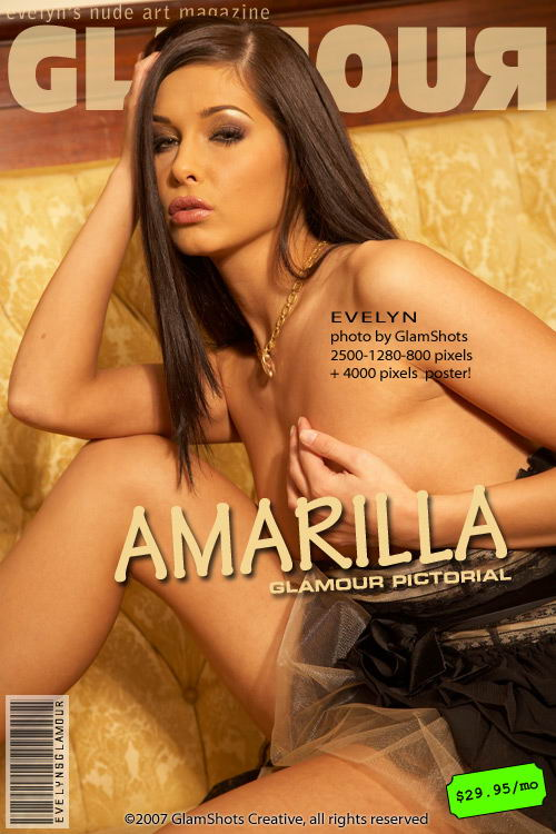 Evelyn Lory - `Amarilla` - by Tom Veller for MYGLAMOURSITE