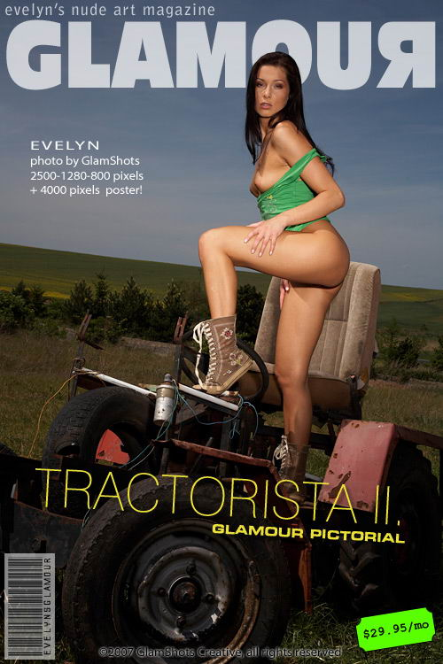 Evelyn Lory - `Tractorista II` - by Tom Veller for MYGLAMOURSITE