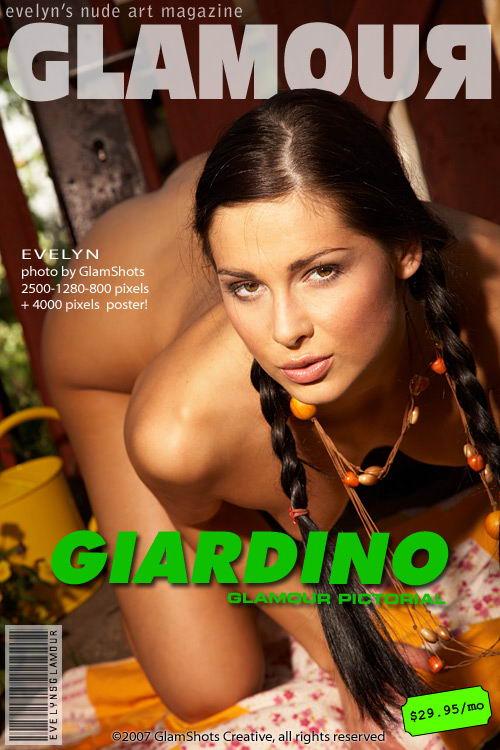 Evelyn Lory - `Giardino` - by Tom Veller for MYGLAMOURSITE