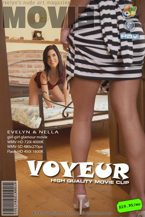 Evelyn Lory & Nella - `Voyeur` - by Tom Veller for MYGLAMOURSITE