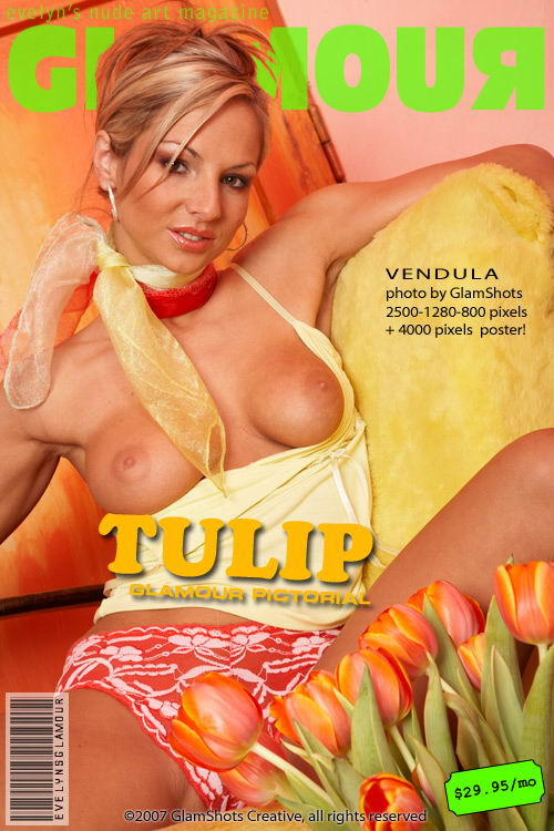Vendula - `Tulip` - by Tom Veller for MYGLAMOURSITE