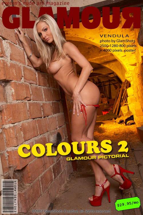 Vendula - `Colours 2` - by Tom Veller for MYGLAMOURSITE