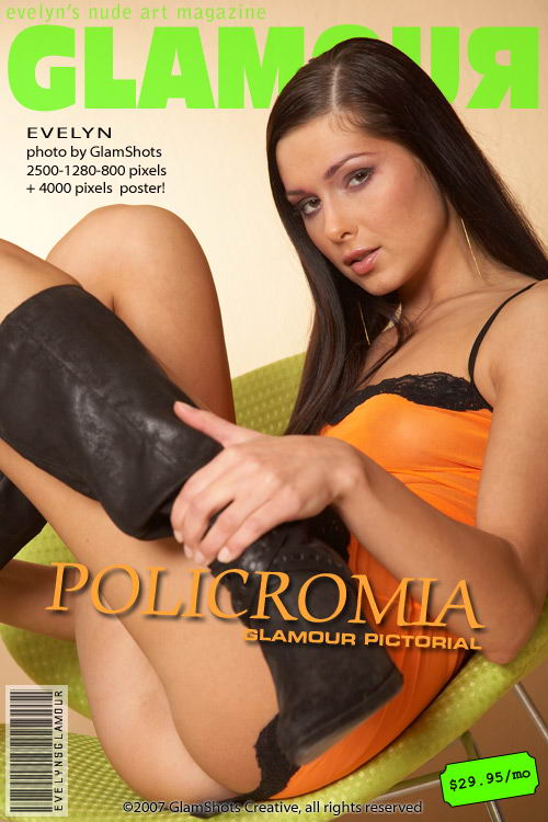 Evelyn Lory - `Policromia` - by Tom Veller for MYGLAMOURSITE