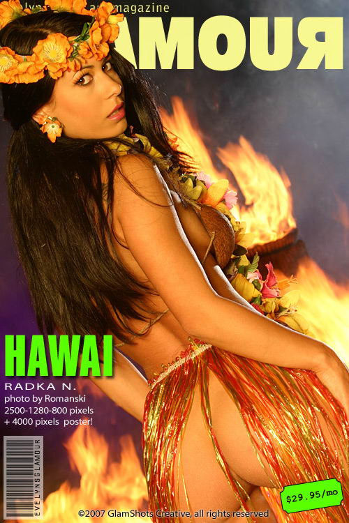 Radka N - `Hawai` - by Tom Veller for MYGLAMOURSITE