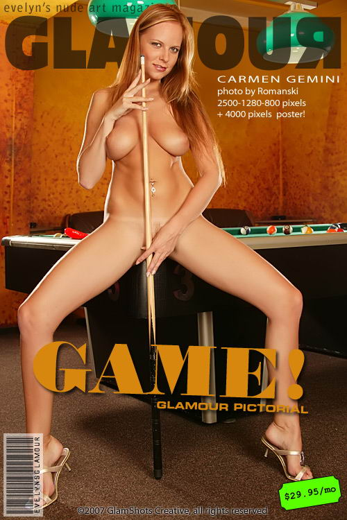 Carmen Gemini - `Game` - by Tom Veller for MYGLAMOURSITE