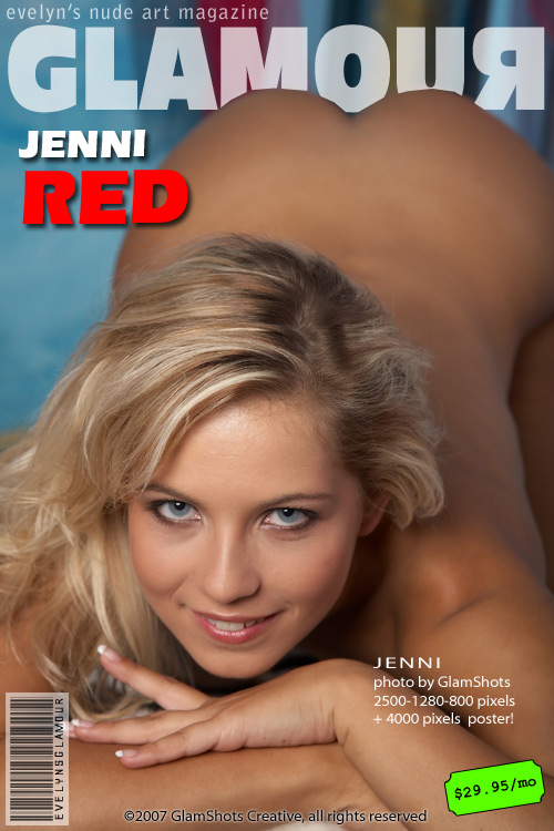 Jenni - `Red` - by Tom Veller for MYGLAMOURSITE