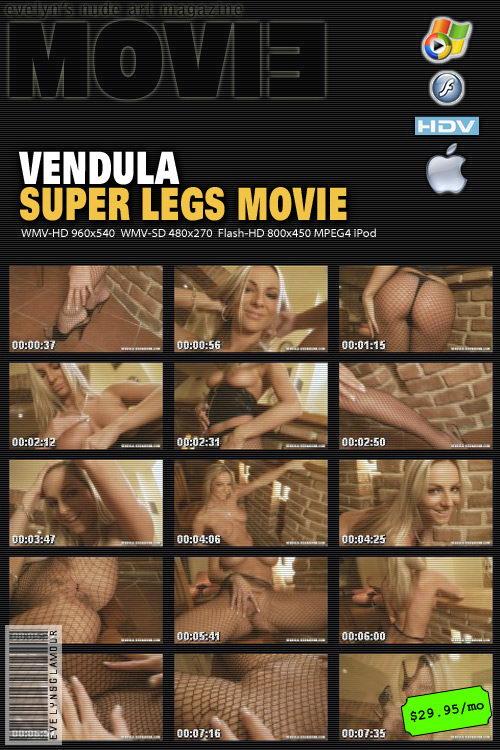 Vendula Bednarova - `Super Legs Movie` - by Tom Veller for MYGLAMOURSITE