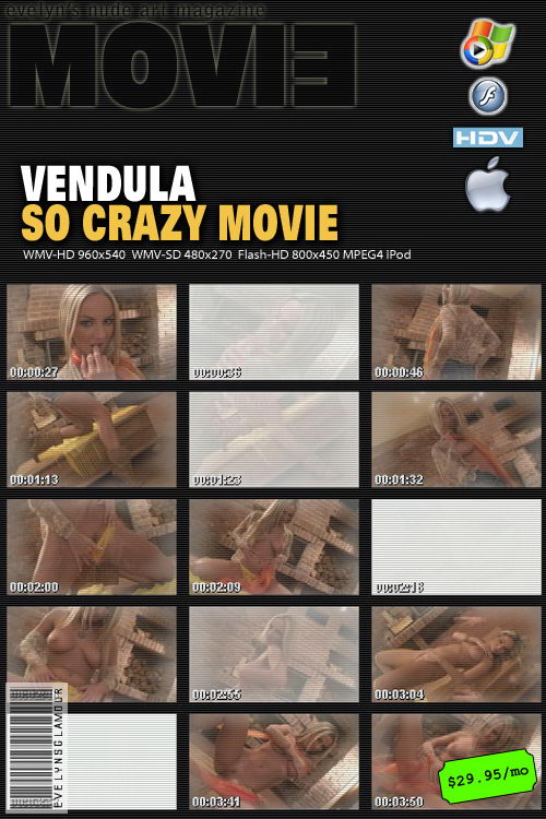 Vendula Bednarova - `So Crazy Movie` - by Tom Veller for MYGLAMOURSITE