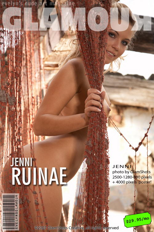 Jenni - `Ruinae` - by Tom Veller for MYGLAMOURSITE