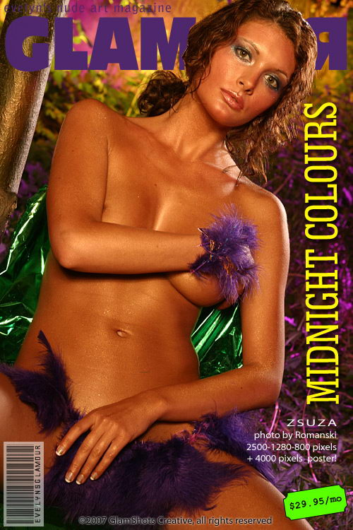 Zsuza - `Midnight Colours` - by Tom Veller for MYGLAMOURSITE