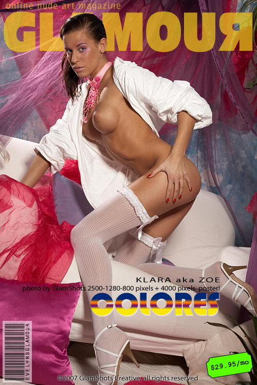 Zoe - `Colores` - by Tom Veller for MYGLAMOURSITE