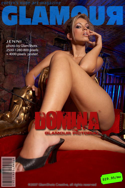 Jenni - `Domina!` - by Tom Veller for MYGLAMOURSITE