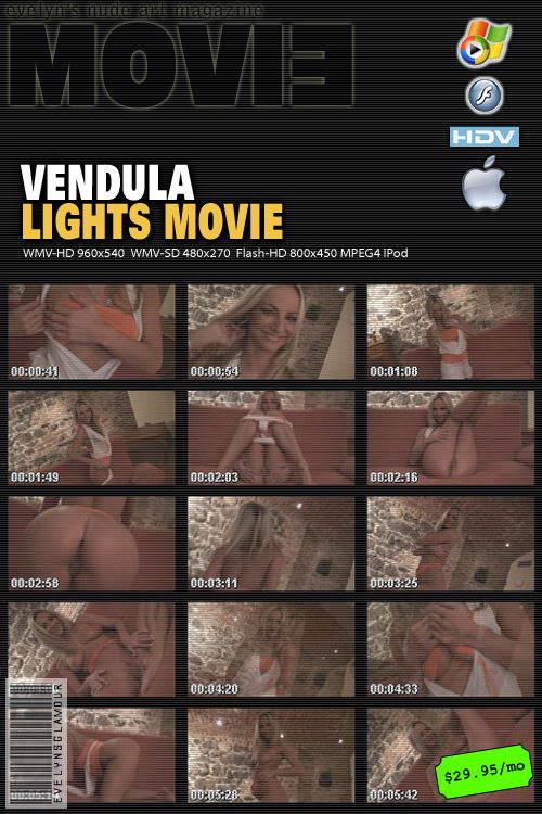 Vendula Bednarova - `Lights` - by Tom Veller for MYGLAMOURSITE
