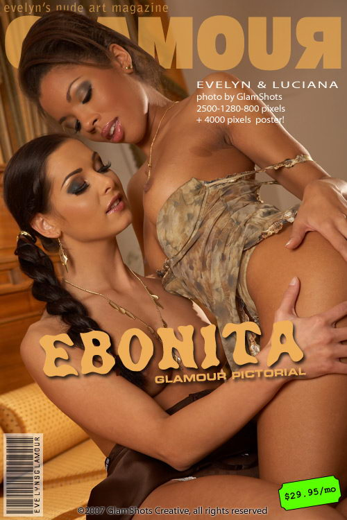 Evelyn Lory & Luciana - `Ebonita` - by Tom Veller for MYGLAMOURSITE