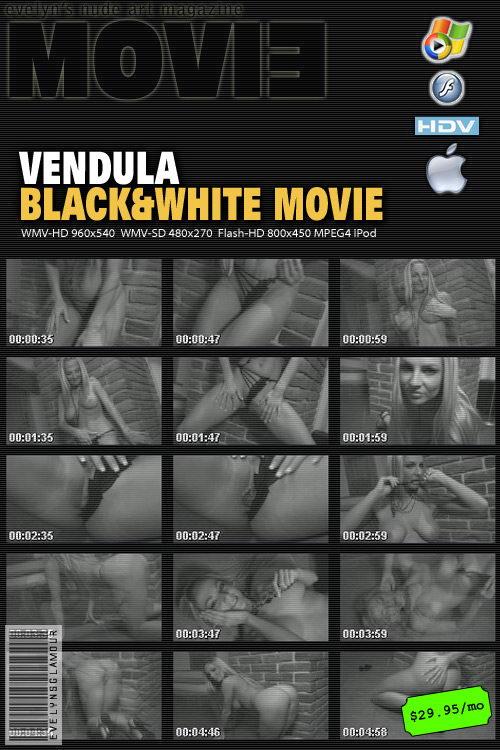 Vendula Bednarova - `Bw video` - by Tom Veller for MYGLAMOURSITE