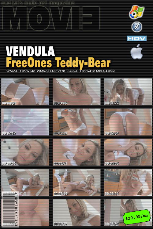 Vendula Bednarova - `FreeOnes Teddy-Bear` - by Tom Veller for MYGLAMOURSITE
