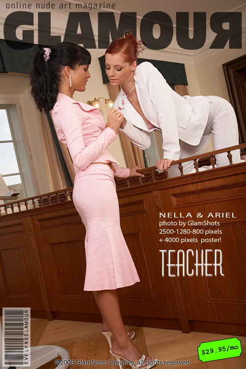 Nella - `Teacher` - by Tom Veller for MYGLAMOURSITE