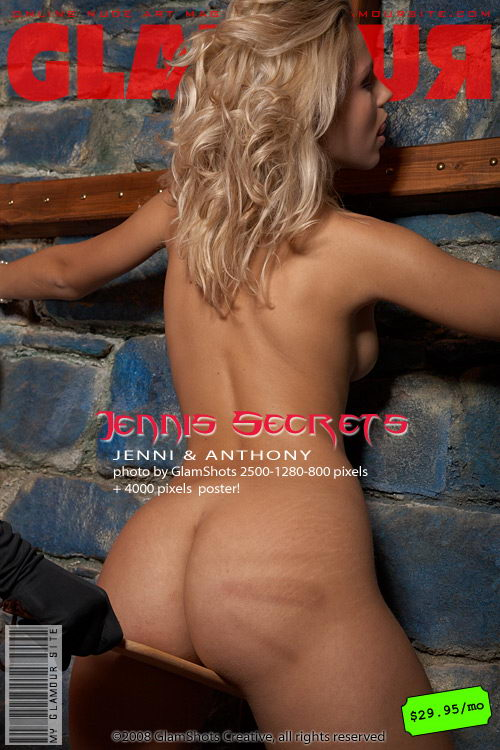 Jenni - `Jennis Secrets` - by Tom Veller for MYGLAMOURSITE