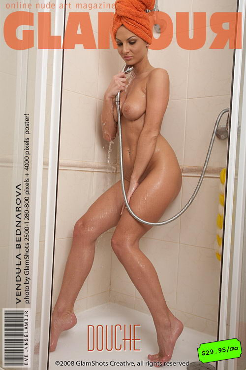 Vendula Bednarova - `Douche` - by Tom Veller for MYGLAMOURSITE