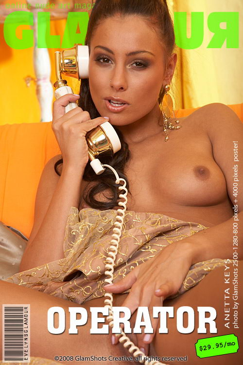 Anetta Keys - `Operator` - by Tom Veller for MYGLAMOURSITE