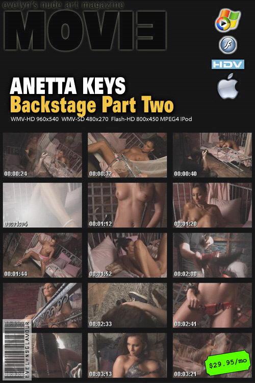 Anetta Keys - `Backstage Part Two` - by Tom Veller for MYGLAMOURSITE