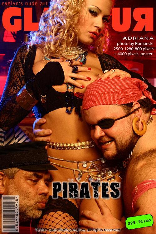 Adriana Malkova - `Pirates` - by Tom Veller for MYGLAMOURSITE