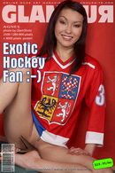 Exotic Hockey Fan