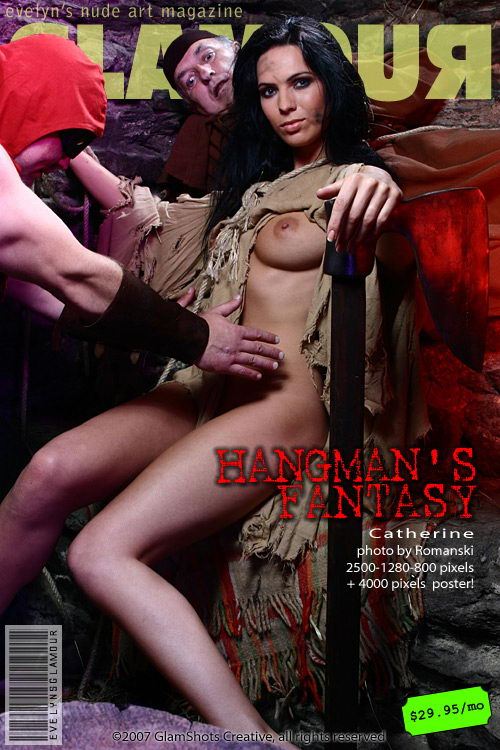 Catherine - `Hangmans Fantasy` - by Tom Veller for MYGLAMOURSITE