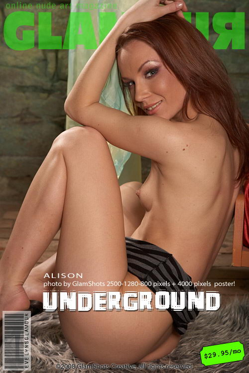 Alison - `Underground` - by Tom Veller for MYGLAMOURSITE