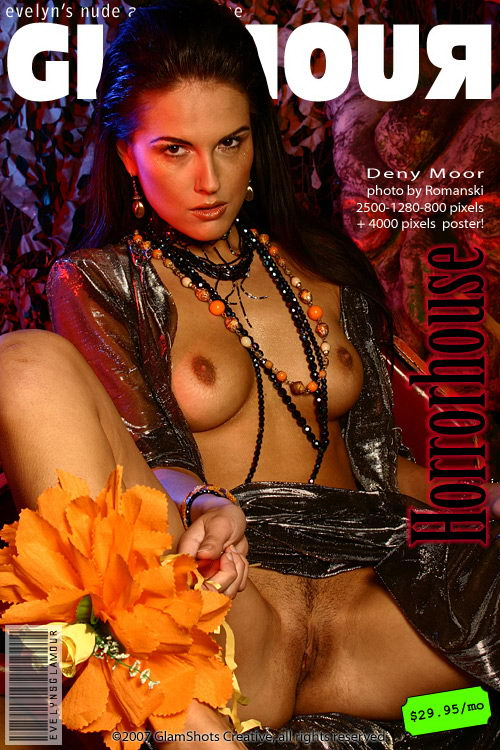 Deny Moor - `Horror House` - by Romanski for MYGLAMOURSITE