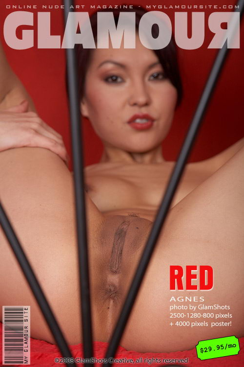 Agnes - `Red` - by Tom Veller for MYGLAMOURSITE