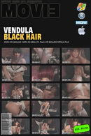 Vendula Bednarova in Black Hair video video from MYGLAMOURSITE by Tom Veller
