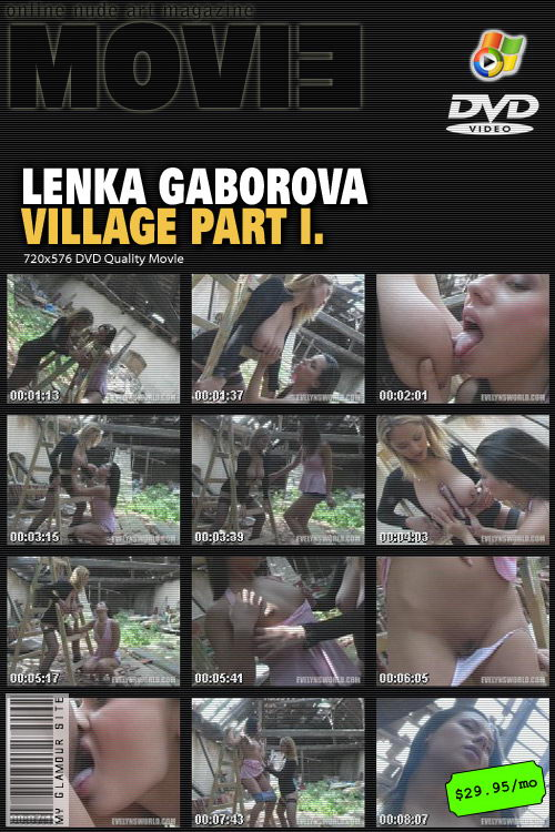 Lenka Gaborova - `Village - Part I` - by Tom Veller for MYGLAMOURSITE