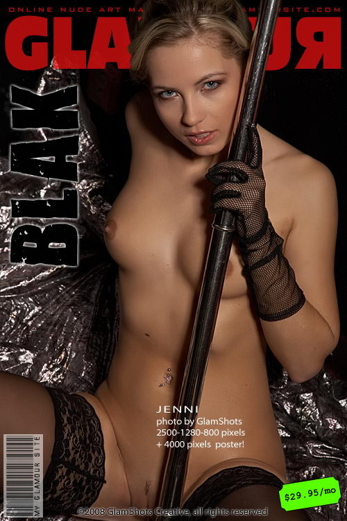 Jenni - `Blak` - by Tom Veller for MYGLAMOURSITE