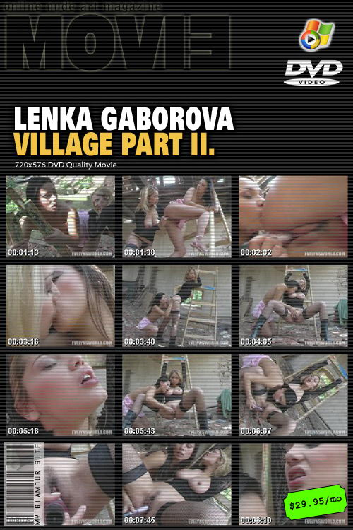 Lenka Gaborova - `Village - Part II` - by Tom Veller for MYGLAMOURSITE