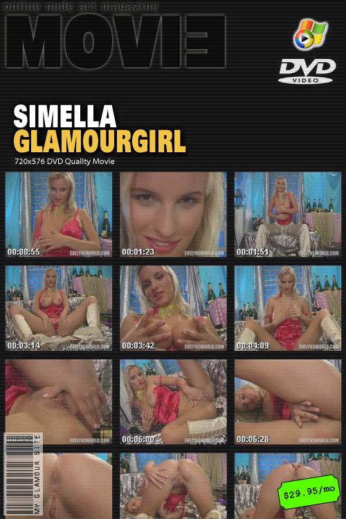 Simella - `GlamourGirl` - by Tom Veller for MYGLAMOURSITE