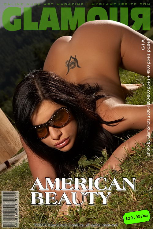 Gia - `American Beauty` - by Tom Veller for MYGLAMOURSITE
