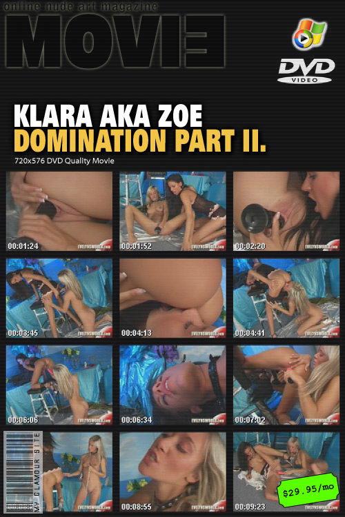Klara - `Domination Part II` - by Tom Veller for MYGLAMOURSITE