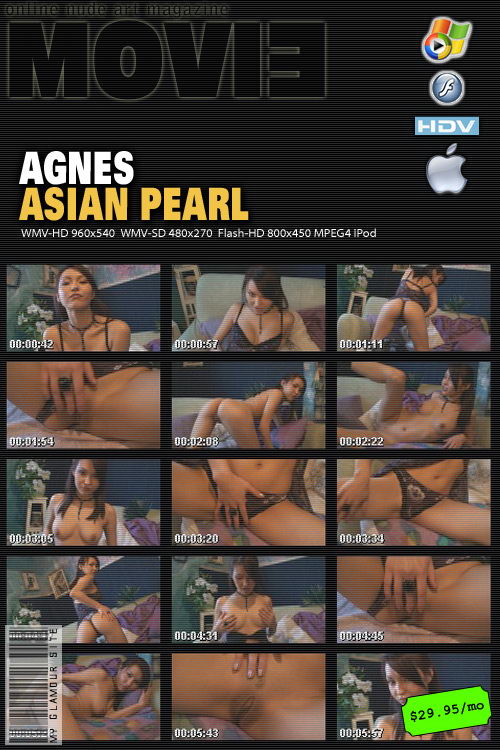 Agnes - `Asian Pearl` - by Tom Veller for MYGLAMOURSITE