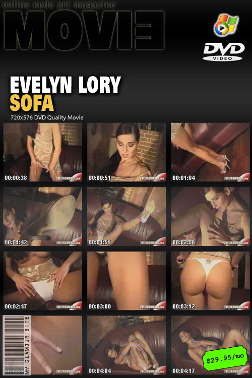 Evelyn Lory - `Sofa` - by Tom Veller for MYGLAMOURSITE
