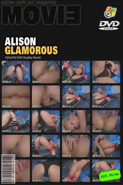 Alison - `Glamorous` - by Tom Veller for MYGLAMOURSITE