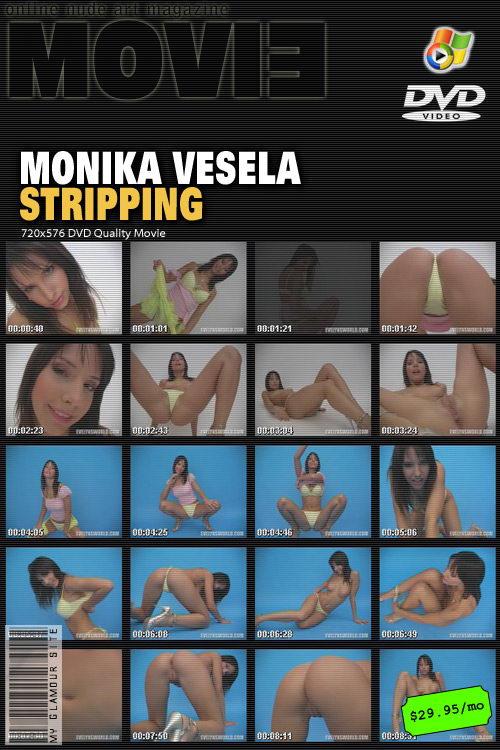 Monika Vesela - `Stripping` - by Tom Veller for MYGLAMOURSITE
