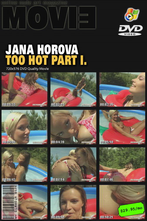 Jana Horova - `Too Hot Part I` - by Tom Veller for MYGLAMOURSITE