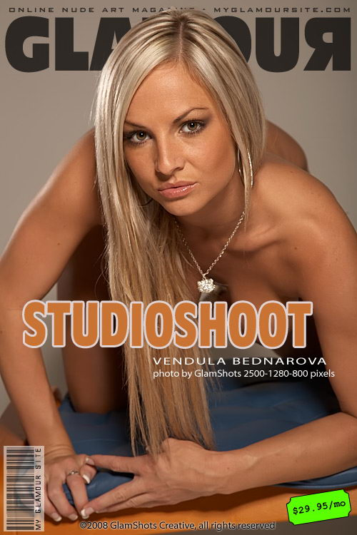 Vendula Bednarova - `Studio Shoot` - by Tom Veller for MYGLAMOURSITE
