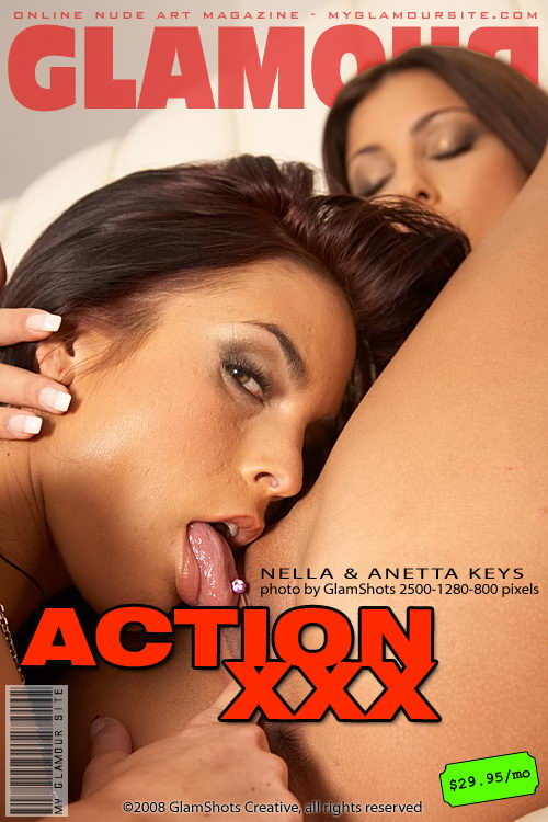 Anetta Keys - `Action XXX` - by Tom Veller for MYGLAMOURSITE