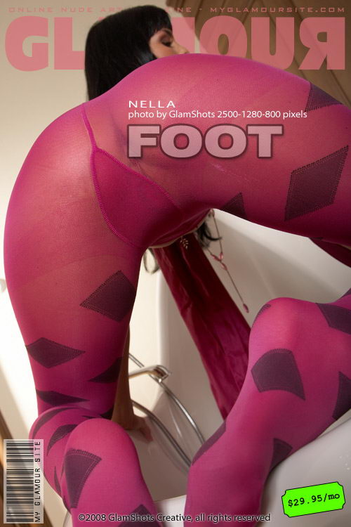Nella - `Foot Fantasy` - by Tom Veller for MYGLAMOURSITE
