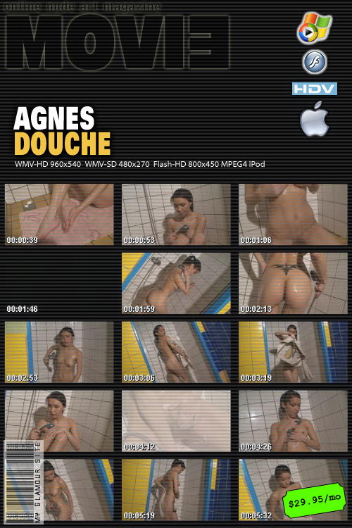 Agnes - `Douche` - by Tom Veller for MYGLAMOURSITE