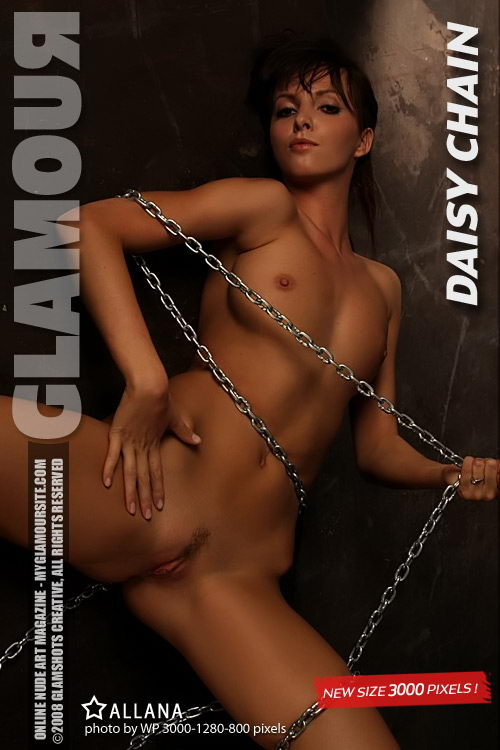 Allana - `Daisy Chain` - by Tom Veller for MYGLAMOURSITE